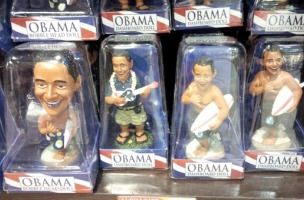 Obama bobble head dolls