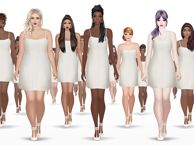 Covet fashion adds diverse new models to outfit creation platform adweek Fashion style and beauty games