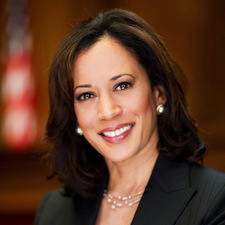 California Attorney General Kamala Harris headshot