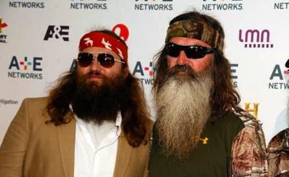 Image result for willie and phil robertson