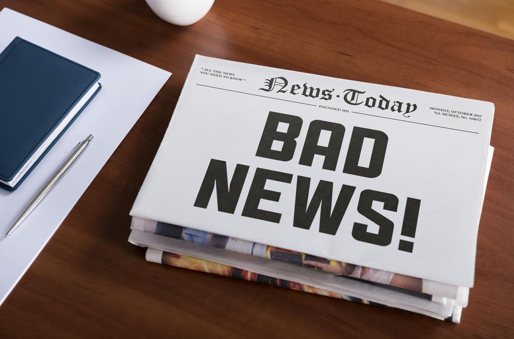 bad news good news book