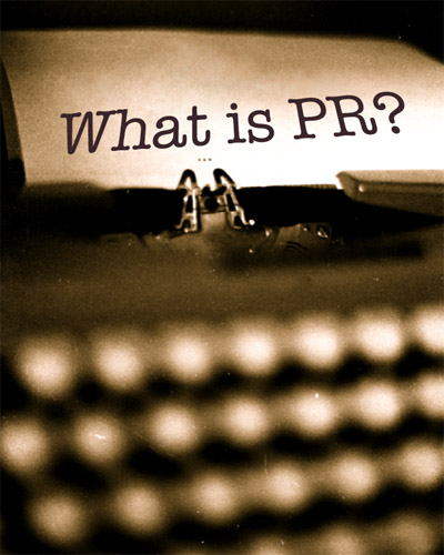what is pr