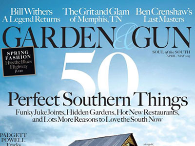 Attractive At Its Inception, Charleston Based Garden U0026 Gun Could Have Been A Regional  Magazine. Its Founders Instead Decided To Make The Pub National, ...