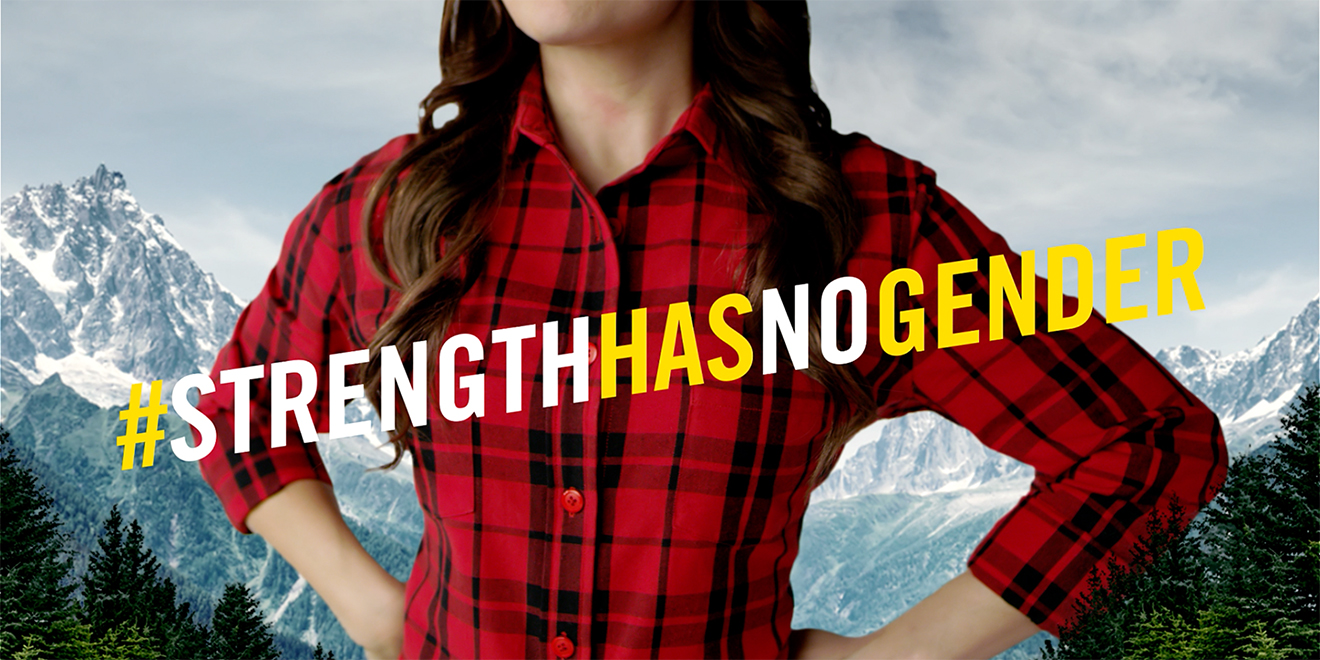 Brawny Celebrates Women's History Month By Featuring a Woman on Its Packaging