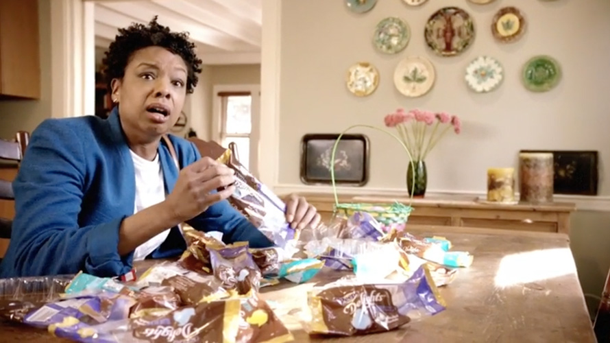 Parents Throw Tantrums When Kids Steal Their Candy in Easter Ads From Peeps