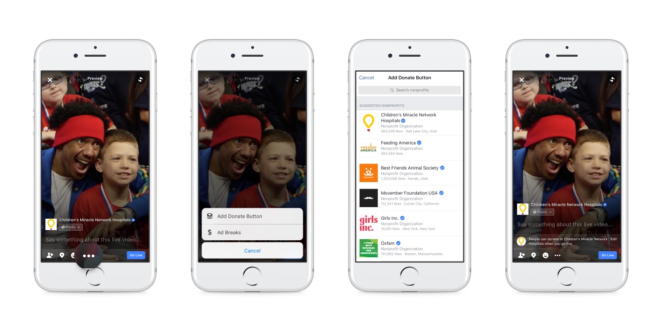 Facebook Wants to Help You Raise Money With These Two New Features