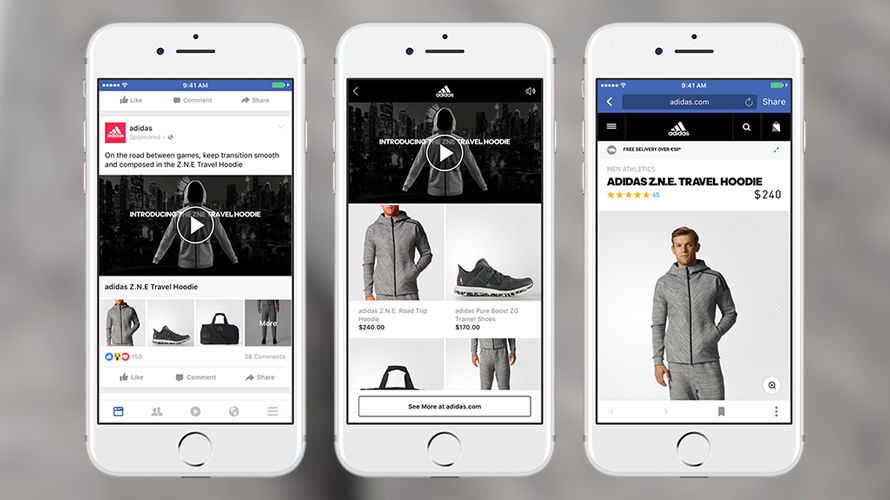 a22bd72c526c9 Adidas, Lowe's and Michael Kors have tested Facebook's new video ads.