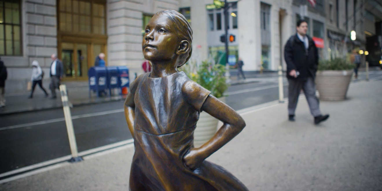 the story of  u2018fearless girl  u2019 from the women at mccann who