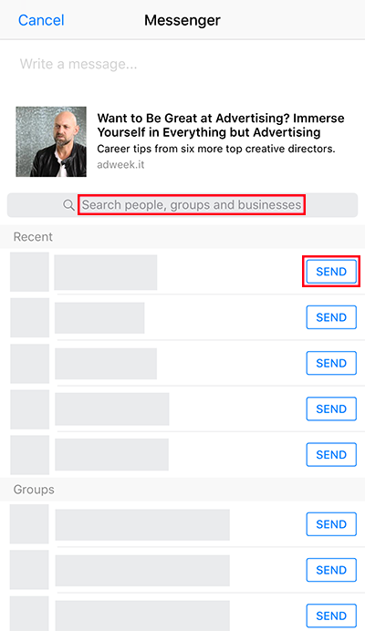 Here's How to Share a Facebook Post – Adweek