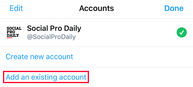 Here's How to Add Multiple Accounts in the Twitter App – Adweek