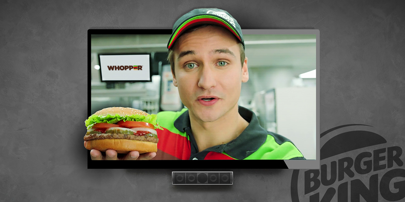 Burger King's 'Outstanding, Outrageous' Google Home Stunt