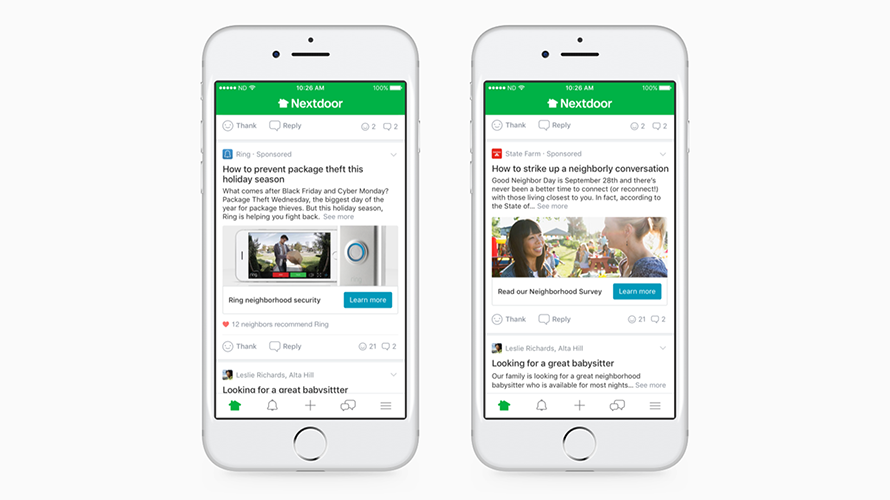Why Nextdoor Believes It Can Be Social Media's Next $1 Billion Advertising Machine