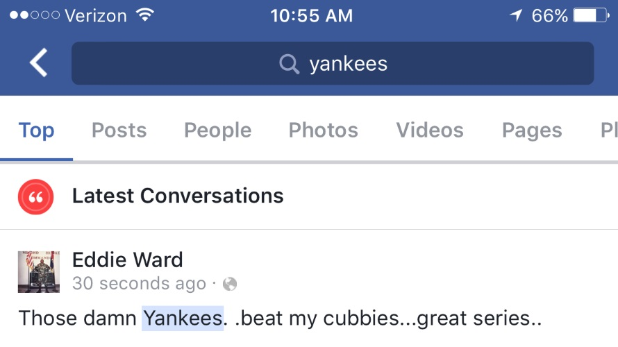 Facebook Added a Latest Conversations Section, Featuring