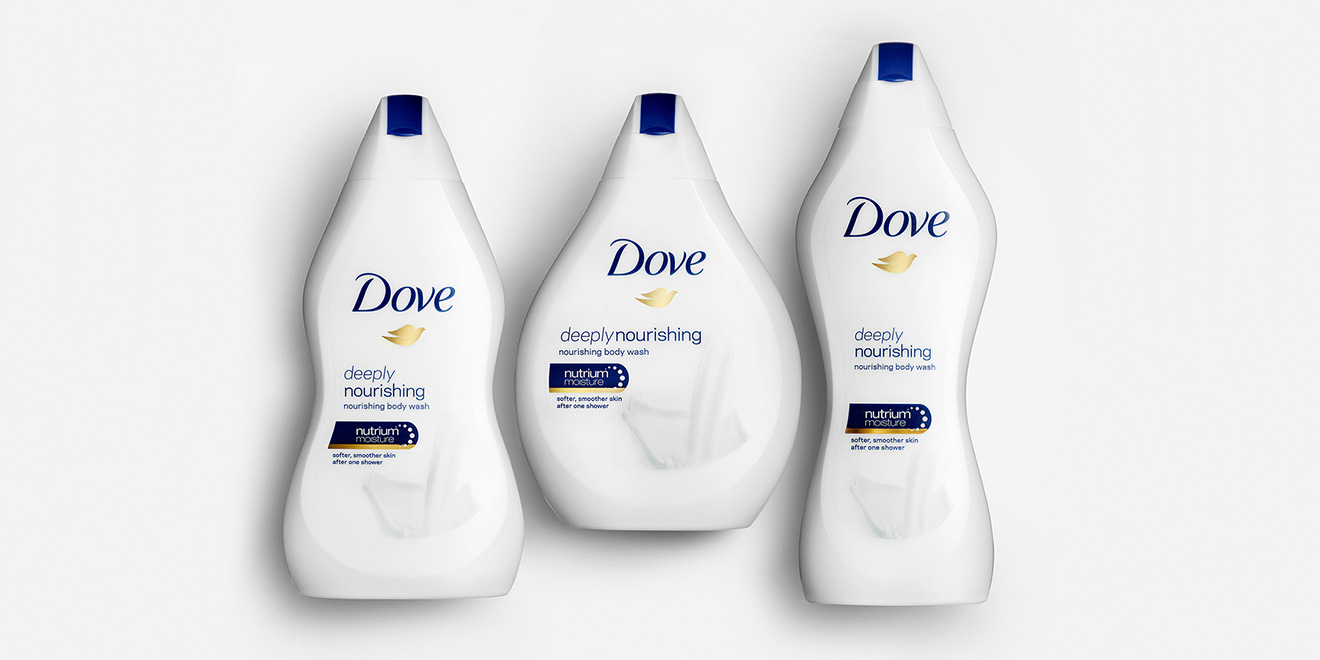 Dove's 'Real Beauty Bottles' Come in All Shapes and Sizes, Embodying the Brand Message