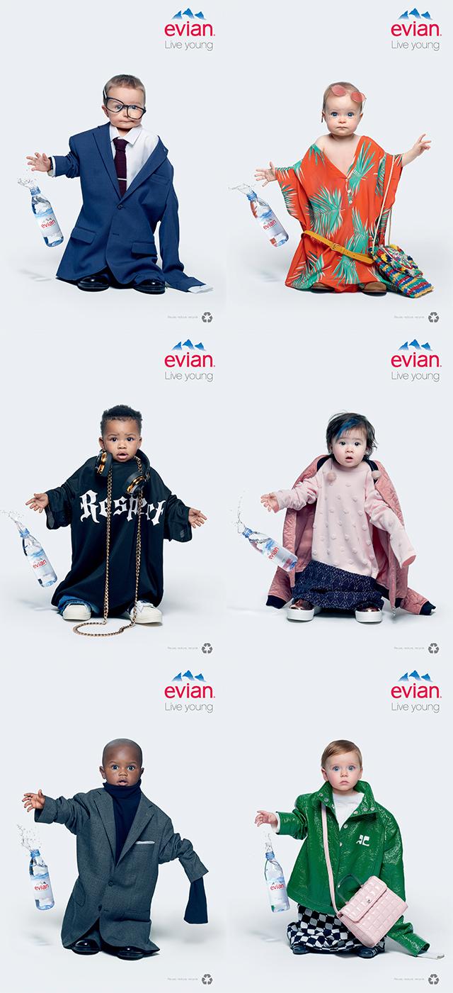 e9cc3faaa The Evian Babies Are Back