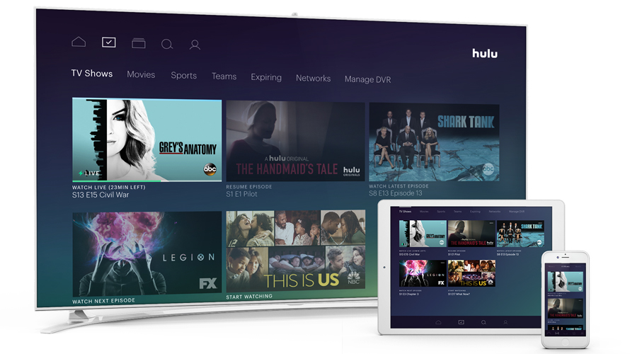 Hulu Launches Its Live Tv Streaming Service Today And Renews The