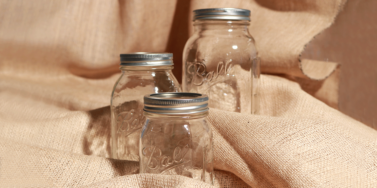 Mason Jars Take Their Name From John Landis Mason, Who Invented The  Screw Top Jar In 1858.
