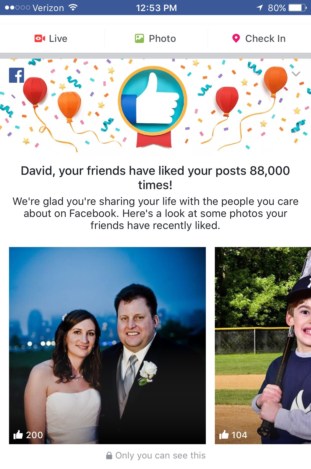how many times have your friends liked your facebook posts adweek