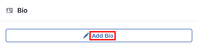 Facebook: Here's How to Add a Bio to Your Profile – Adweek