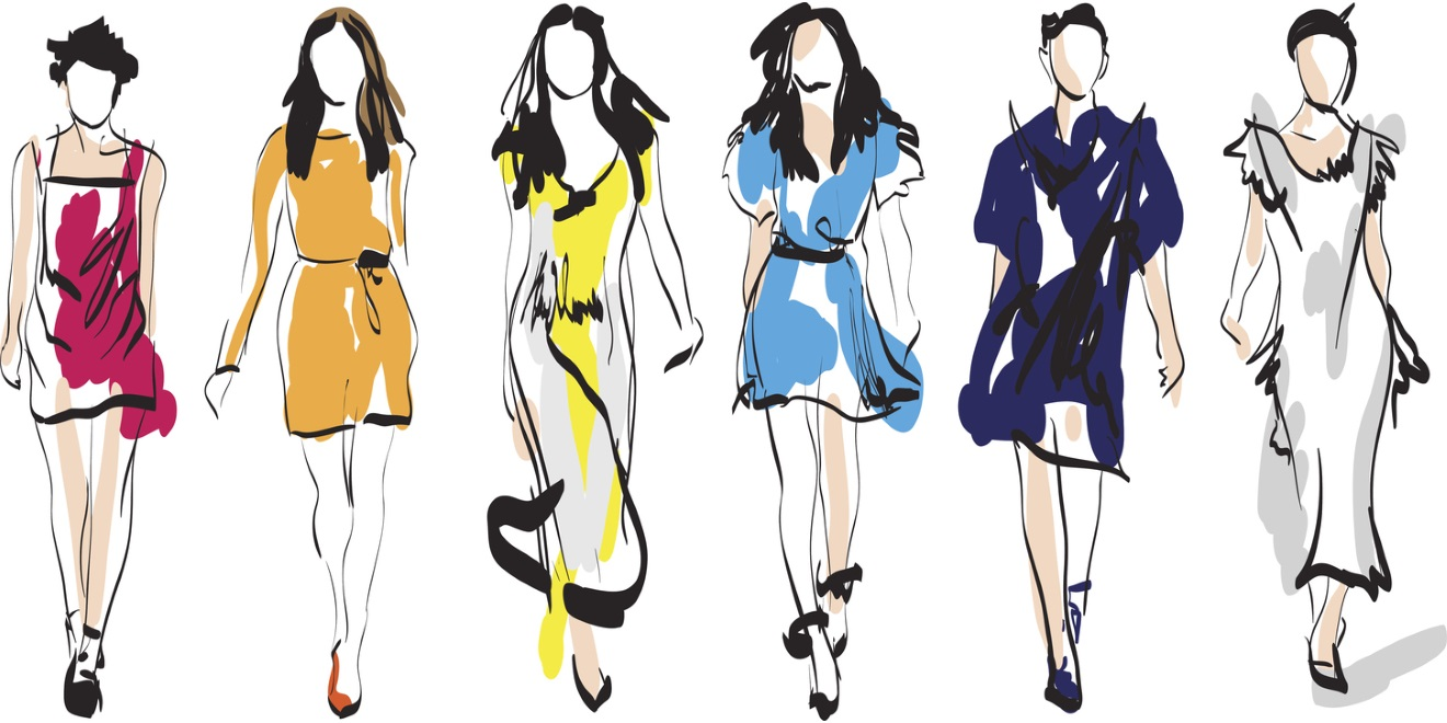 Line Art Design Trend : How social media contributed to the rise of fast fashion
