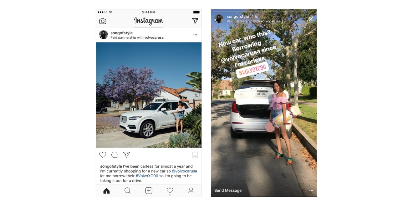 Instagram Just Added a Tag to Make Sponsored Content More