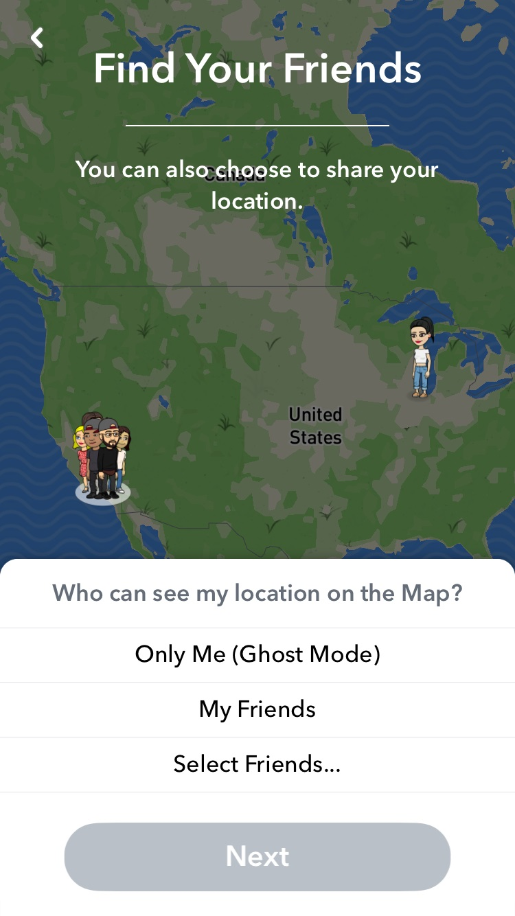 snap map is snapchat s new way of alerting users to locations of