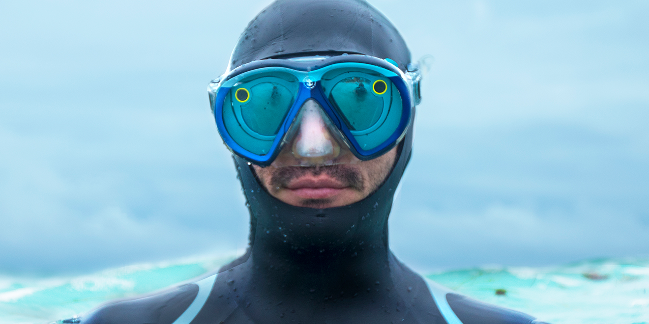 83a572d7805 Underwater photographer and conservationist Roberto Ochoa used Royal  Caribbean s Snapchat Spectacles goggles this week in Mexico.