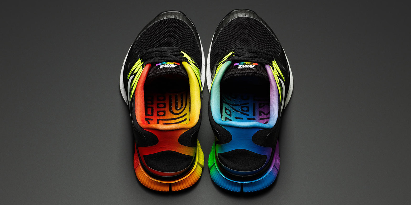 67774edbcab Nike recently expanded its gay-friendly shoe and clothing line Be True.