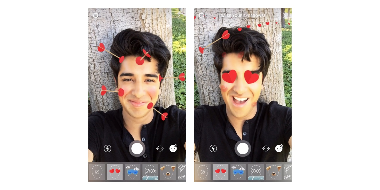 30aeecdf11 Instagram Hopes You Heart Its New Face Filter – Adweek