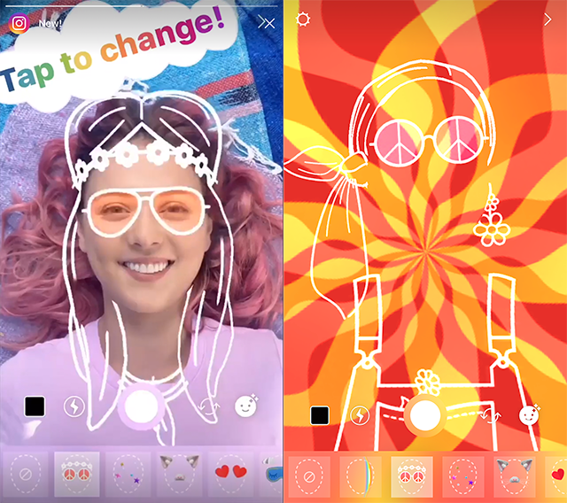 Peace, Love, Rainbow Light and Instagram Face Filters – Adweek