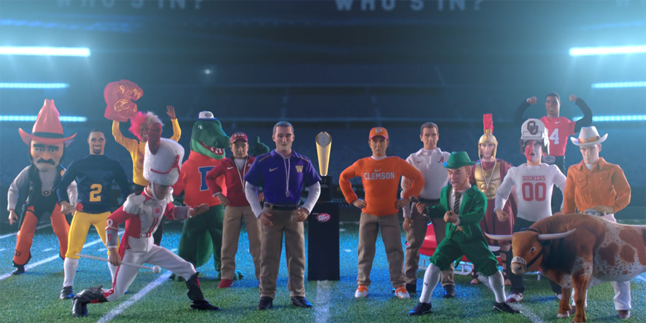 Espn S New Animated Ads Feature An All Star Cast Of College