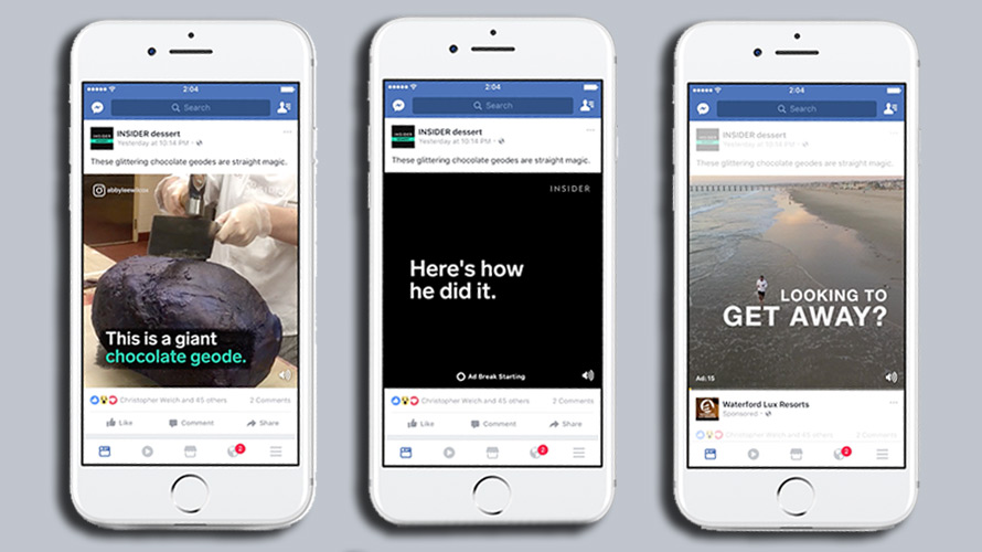 Facebook Is Giving Advertisers More Flexibility When Buying Mid-roll Video Ads