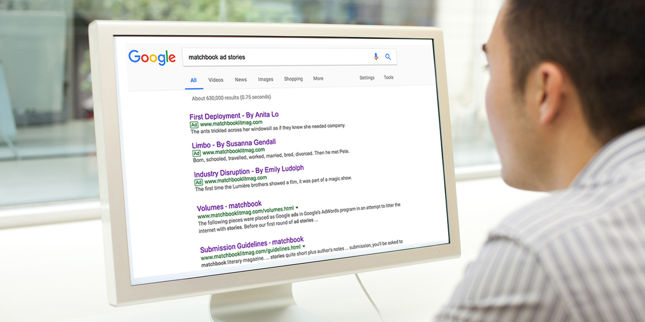 Why Little Short Stories Are Popping Up in Google Ads All Over the Internet