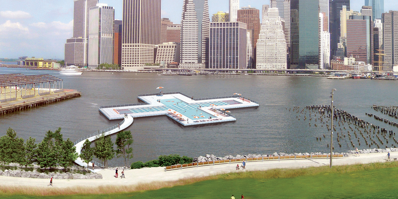 Heineken Really Wants This Floating Swimming Pool to Be ...