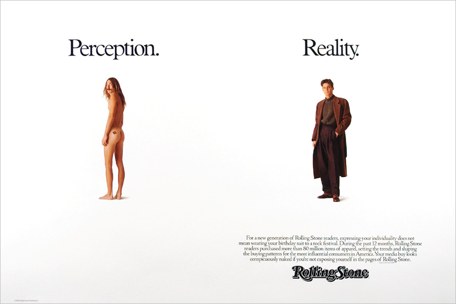 perception vs reality a look back at rolling stone s greatest ad