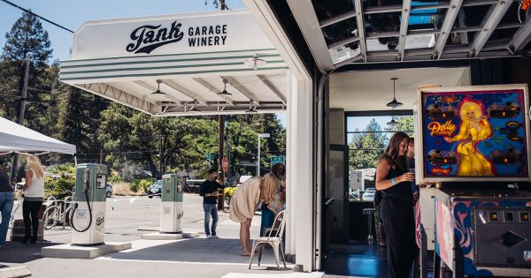 Why a Funky Old Gas Station in Napa Valley Is Now a Mecca for Millennial Wine Drinkers