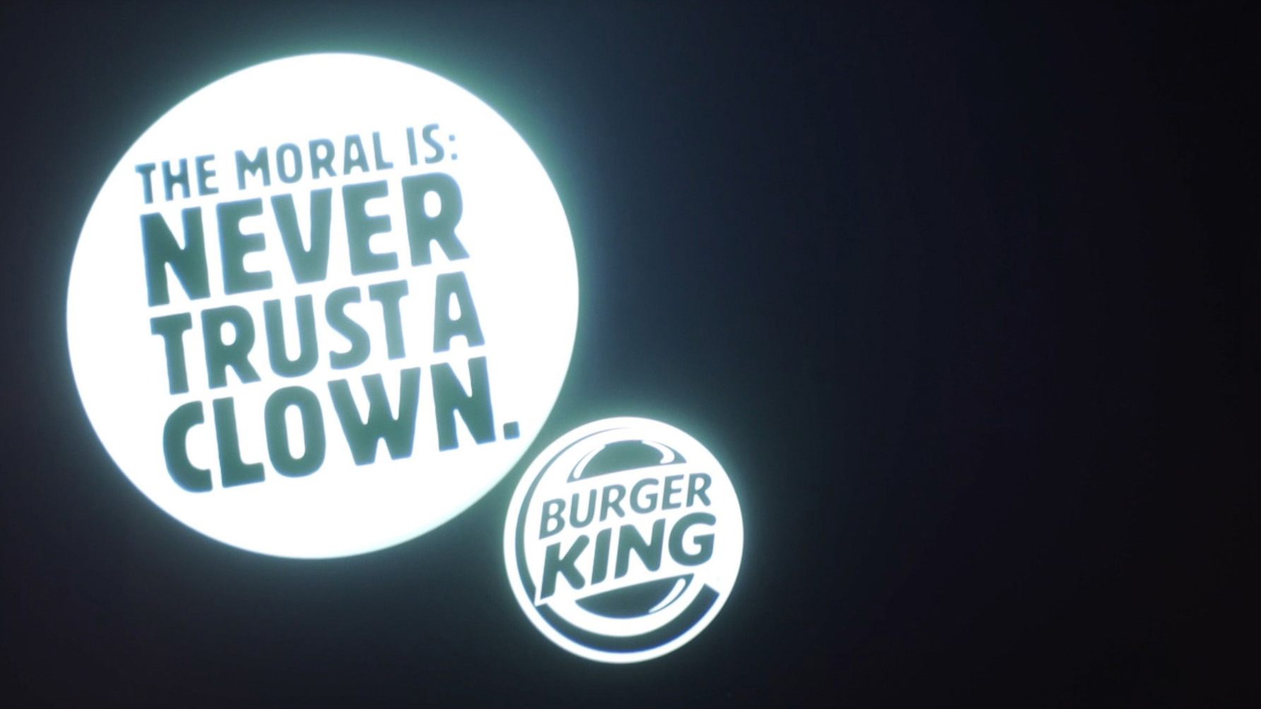 burger king trolls mcdonald's with a hilarious ad at screenings of