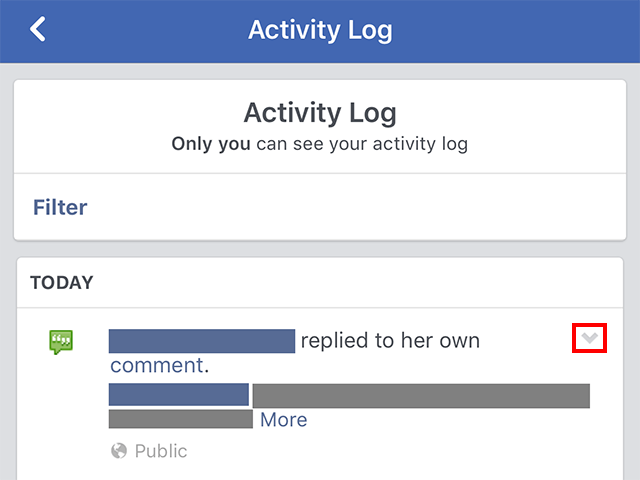 Facebook Heres How To View Your Activity Log Adweek