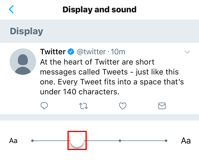 twitter here�s how to change the font size in the twitter