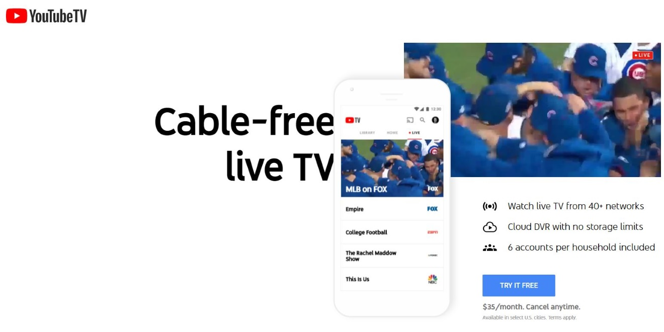 There Is Now a YouTube TV App Designed for Big TV Screens – Adweek