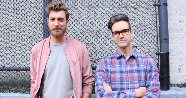 youtube creators rhett and link discuss their first book while