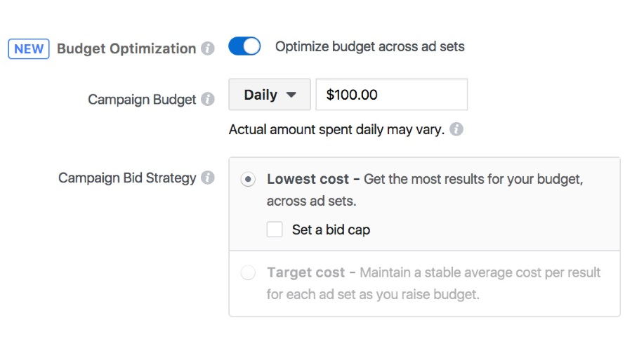 Facebook Is Introducing a Campaign Budget Optimization Tool for Advertisers