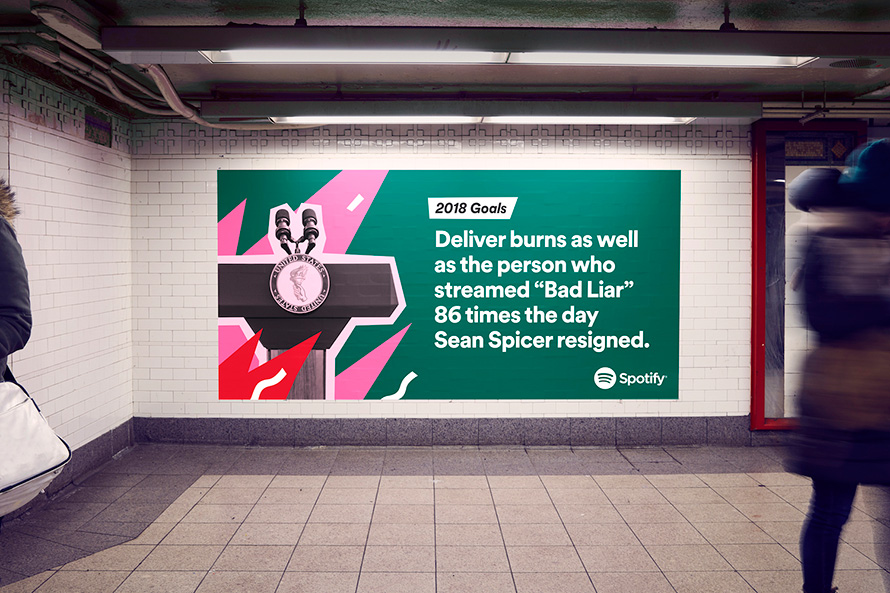 How Spotify Makes Its Data-Driven Outdoor Ads, and Why They