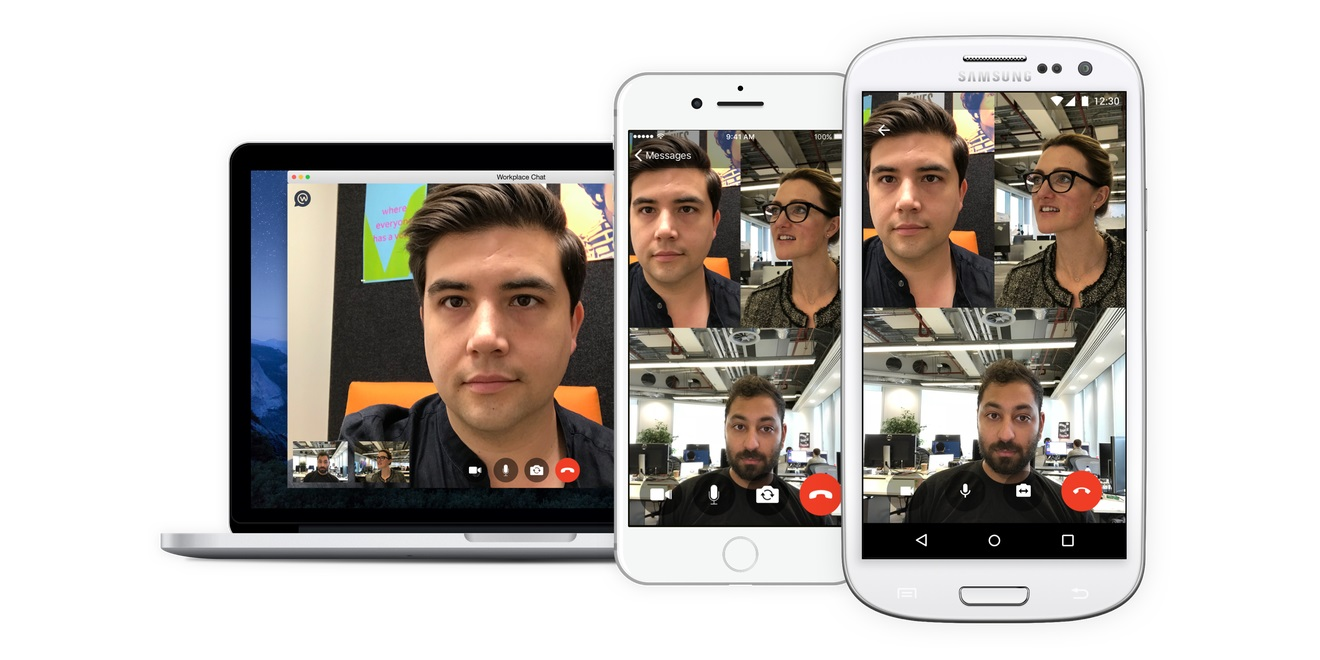 Workplace by Facebook Now Offers Group Video Chat – Adweek