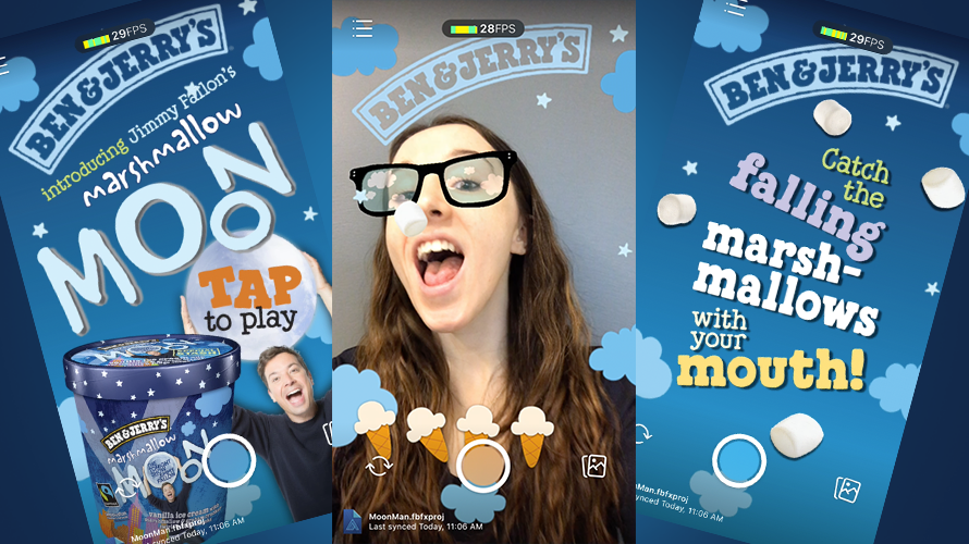 Ben & Jerry's Created a Facebook AR Filter That Challenges