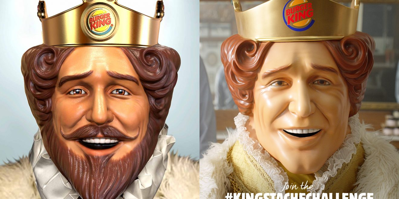 The King Shaved His Mustache for the First Time for Burger King's