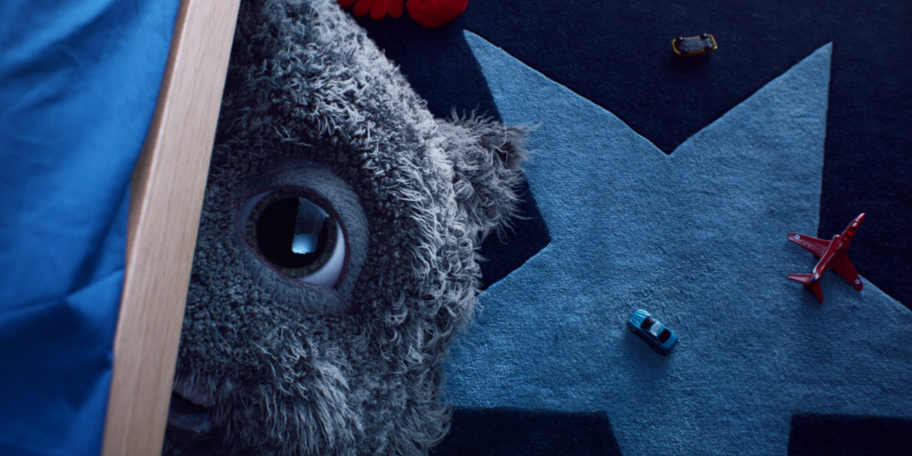 John Lewis Christmas Ad.John Lewis Unveils Moz The Monster In Its Charming