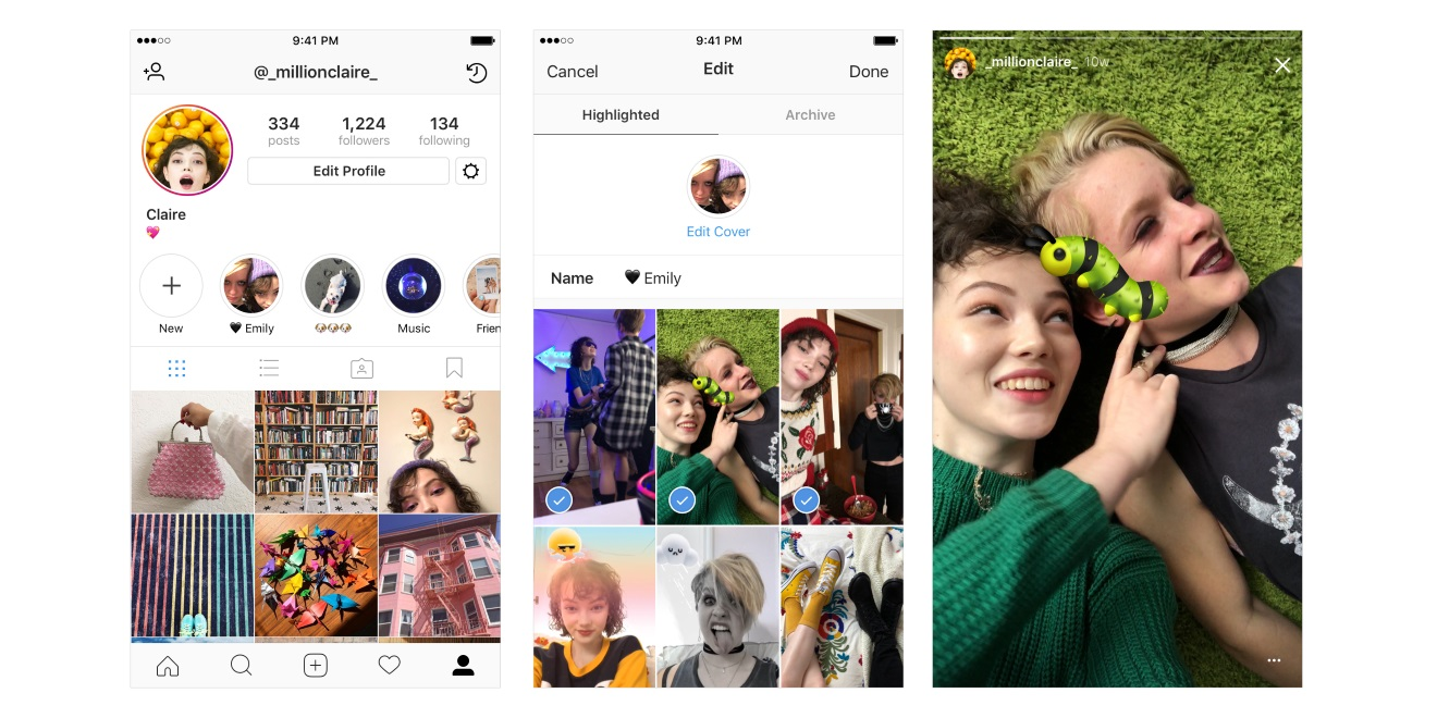 Instagram Just Introduced 2 Ways To Keep Stories Around For More Than 24 Hours