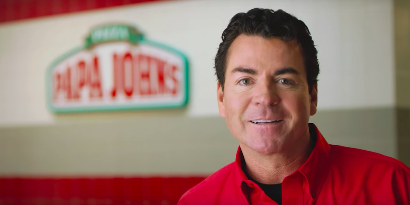 papa john one of the last ceo ad stars will remain the face of the