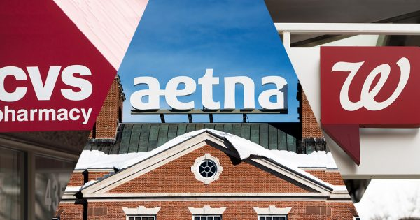 with amazon s rumored entry into pharma cvs is eyeing aetna and